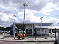East Midlands Airport bus stop and car park pay station - geograph.org.uk - 1409930.jpg