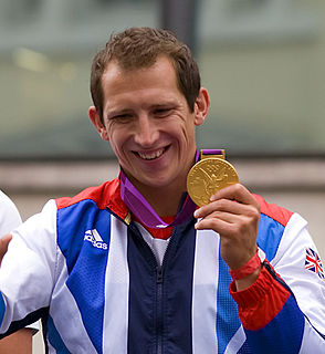 Ed McKeever Kayaker, K1 200m Olympic champion in 2012