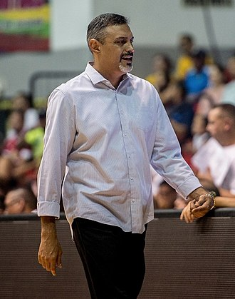 Puerto Rico national basketball team - Eddie Casiano, the current head coach.