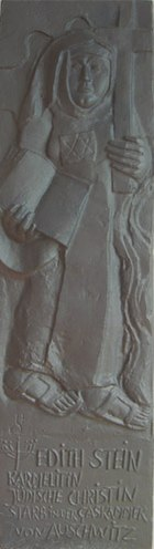 Relief of Edith Stein