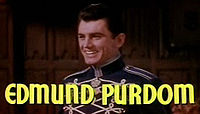 Edmund Purdom i traileren til Studentprinsen.