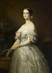 Portrait de l'impératrice Eugènie