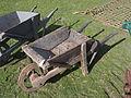 Eersteling Ambachten dag 2013, old wheelbarrow.JPG