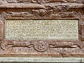 Eggenburg Pfarrkirche - Epitaph 2a Inschrift.jpg