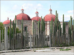 Church of San Pablo in Mitla