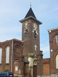 Eglise de Bac-Saint-Maur à Sailly-sur-la-Lys - 2.JPG