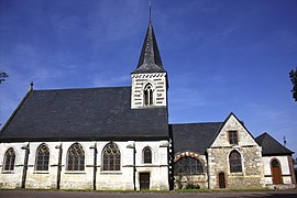 The church in Bouville