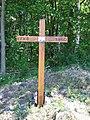 Ein Holzkreuz erinnert an den ehemaligen Ort Fugau.jpg