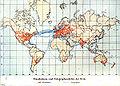 Eisenbahnen- und Telegraphendichte der Erde um 1900.jpg
