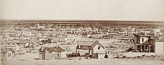 El Paso, Texas - El Paso circa 1880