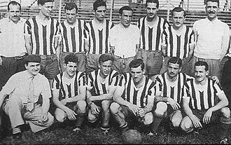 Club El Porvenir - The 1943 team.