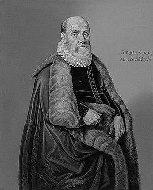 Elias van Oldenbarnevelt, by Michiel van Miereveld