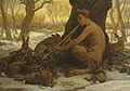 Elihu Vedder - The Young Marsyas Charming the Hares (1878).jpg