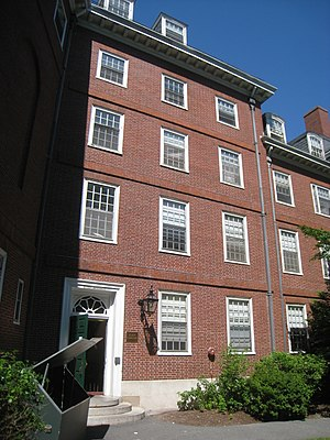 Eliot House, Harvard University, Cambridge, Ma...