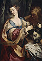 Elisabetta Sirani - Judith with the Head of Holofernes - Walters 37253.jpg