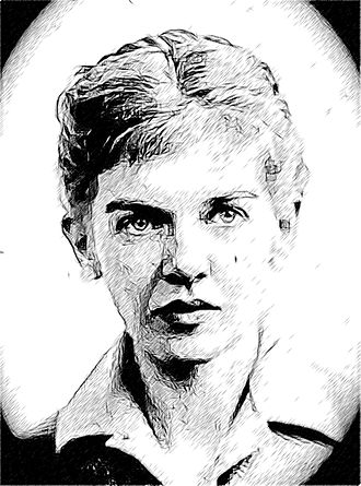 Elizabeth Smart (Canadian author) - Image: Elizabeth Smart Sketch