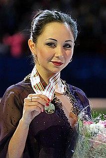 Elizaveta Tuktamysheva Russian figure skater