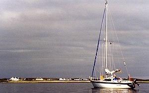 Blacksod Bay - Image: Elly Bay geograph.org.uk 12388