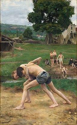 Emile Friant - La Lutte (1889)