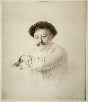 Emile friant (1863-1932) drawing of Aime Morot, 1905.jpg