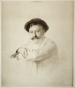 Aimé Morot - Image: Emile friant (1863 1932) drawing of Aime Morot, 1905