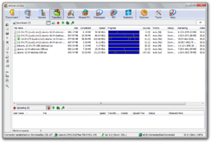 EMule - Image: Emule screenshot