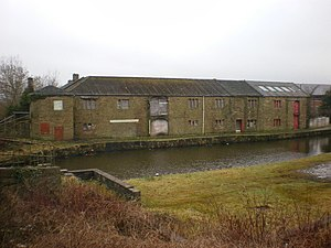 Listed buildings in Clayton-le-Moors - Image: Enfield Wharf, Leeds and Liverpool Canal geograph.org.uk 1164630