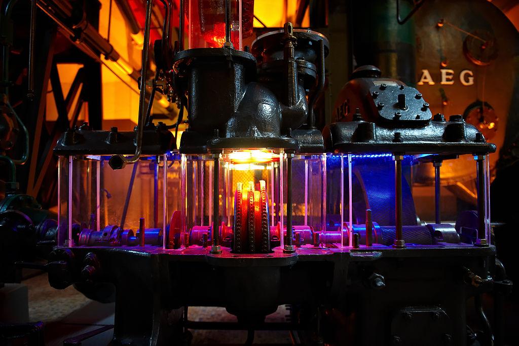 Dans le musée de l'électricité MAAT de Lisbonne - Photo de Gcardinal.