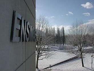 École nationale supérieure d'informatique et de mathématiques appliquées de Grenoble - Ensimag Campus in Winter