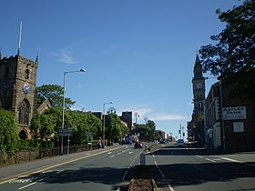 Entering Chorley Town Centre.JPG