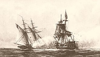 John Rodgers (1772–1838) - USS Enterprise engaging Tripoli