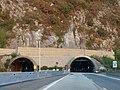 Entrée ouest du tunnel de Dullin en Savoie (en soirée 2018).jpg