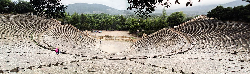 Theater in Epidauros (UNESCO-Welterbe in Griechenland)
