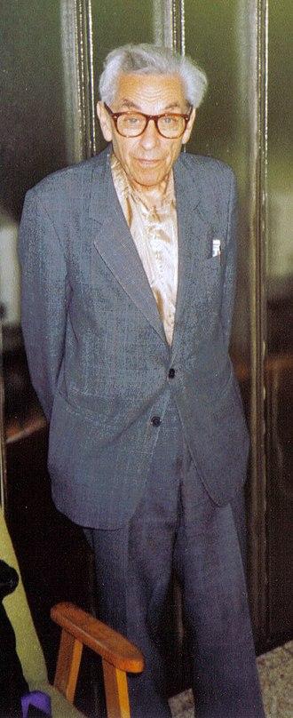 Erdős number - Paul Erdős in 1992