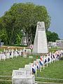 Ere Begraafplaast voor gesneuvelde Nederlandse Luchtmacht piloten in Jackson, MS, USA.jpg