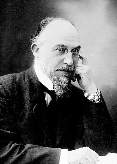 Picture of a band or musician: Erik Satie