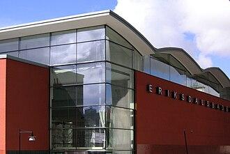 Eriksdalsbadet - Eriksdalsbadet in Stockholm, summer 2006