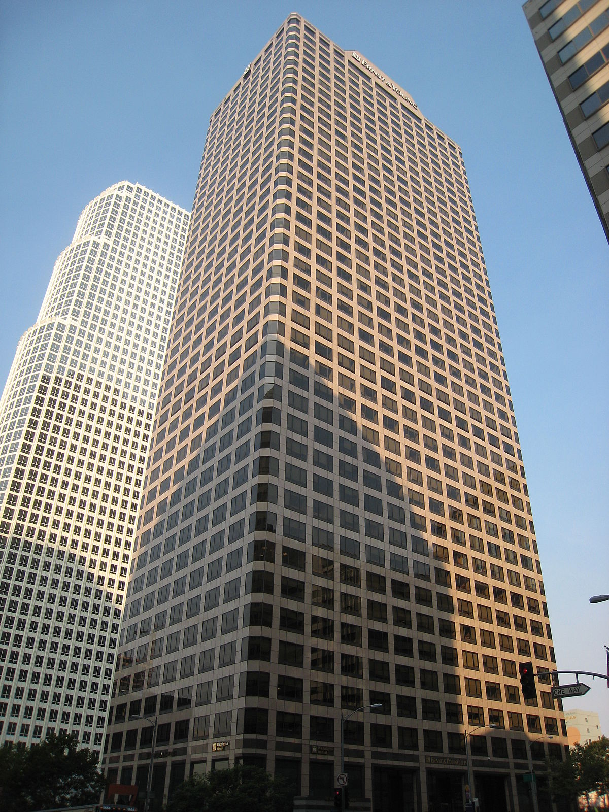 Tallest Building In New York >> Ernst & Young Plaza - Wikipedia