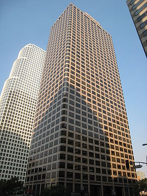 Ernst & Young - Ernst & Young Plaza in Los Angeles, California.