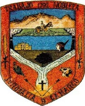 Camargo, Chihuahua - Image: Escudo Camargo