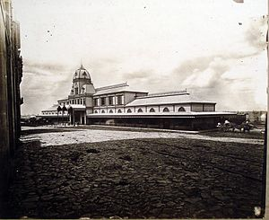 Central Station (Buenos Aires) - Image: Estac central 1875 cjunior