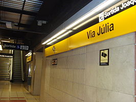 Station Via Júlia