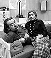 Ettore Sottsass and Fernanda Pivano 1969.jpg
