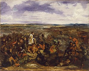 Sketch for the Battle of Poitiers
