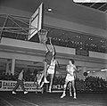 Europa-cup Basketball SVE tegen Real Madrid te Utrecht, spelmoment, Bestanddeelnr 920-9131.jpg