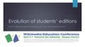Evolution of students' editions - Wikimedia Education Conference 2019.pdf