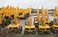 Excavators on Parade - geograph.org.uk - 354450.jpg