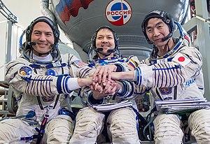 Soyuz TMA-17M - Image: Expedition 44 Qualification Exams