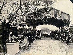 La Rural - The first Rural Exhibition held in Buenos Aires, 1875.