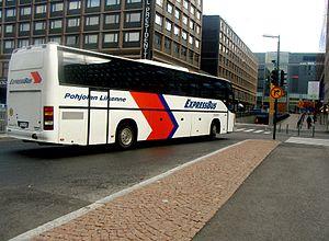 ExpressBus - Carrus Star bodied Volvo B10MA ExpressBus coach in Helsinki